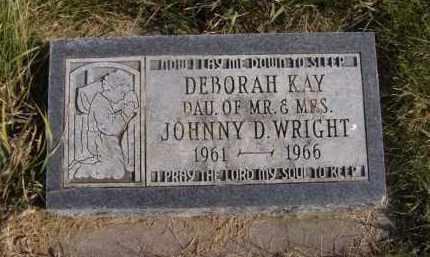 WRIGHT, DEBORAH KAY - Moody County, South Dakota | DEBORAH KAY WRIGHT - South Dakota Gravestone Photos