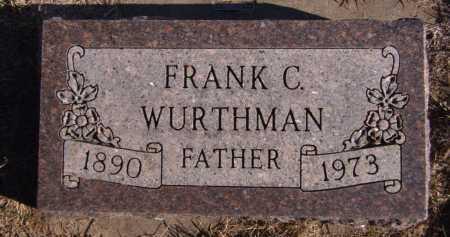 WURTHMAN, FRANK C. - Moody County, South Dakota | FRANK C. WURTHMAN - South Dakota Gravestone Photos