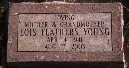 FLATHERS YOUNG, LOIS - Moody County, South Dakota | LOIS FLATHERS YOUNG - South Dakota Gravestone Photos