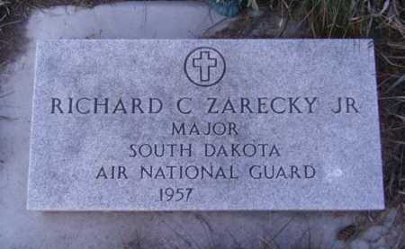 ZARECKY, RICHARD C JR - Moody County, South Dakota | RICHARD C JR ZARECKY - South Dakota Gravestone Photos