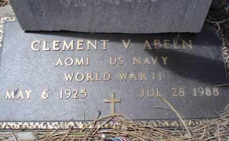 ABELN, CLEMENT V. - Pennington County, South Dakota   CLEMENT V. ABELN - South Dakota Gravestone Photos