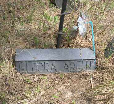 ABELN, ELDORA - Pennington County, South Dakota   ELDORA ABELN - South Dakota Gravestone Photos