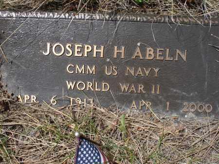 ABELN, JOSEPH H. - Pennington County, South Dakota   JOSEPH H. ABELN - South Dakota Gravestone Photos