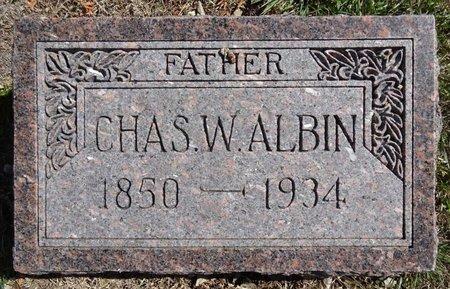 ALBIN, CHAS - Pennington County, South Dakota | CHAS ALBIN - South Dakota Gravestone Photos