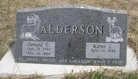 ALDERSON, DONALD E. - Pennington County, South Dakota | DONALD E. ALDERSON - South Dakota Gravestone Photos