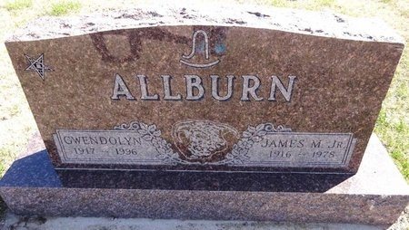 ALLBURN, JAMES - Pennington County, South Dakota   JAMES ALLBURN - South Dakota Gravestone Photos