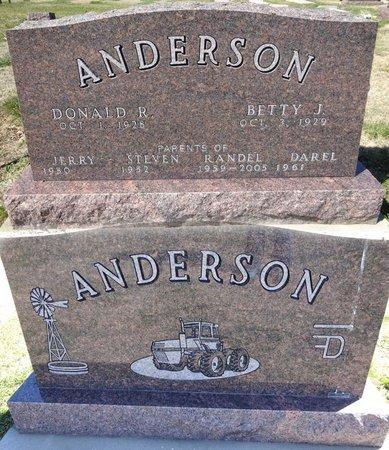 ANDERSON, BETTY - Pennington County, South Dakota   BETTY ANDERSON - South Dakota Gravestone Photos