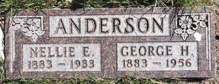 ANDERSON, NELLIE - Pennington County, South Dakota | NELLIE ANDERSON - South Dakota Gravestone Photos