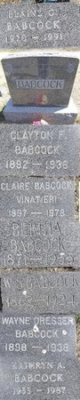 BABCOCK, CLAYTON - Pennington County, South Dakota | CLAYTON BABCOCK - South Dakota Gravestone Photos