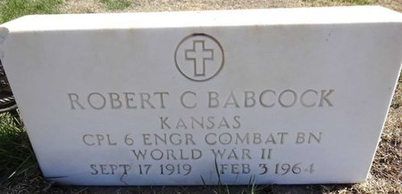 BABCOCK, ROBERT - Pennington County, South Dakota | ROBERT BABCOCK - South Dakota Gravestone Photos