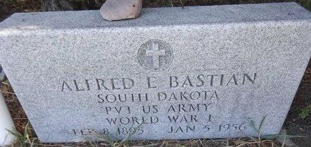 BASTIAN, ALFRED - Pennington County, South Dakota | ALFRED BASTIAN - South Dakota Gravestone Photos
