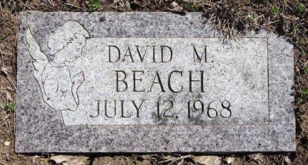 BEACH, DAVID - Pennington County, South Dakota | DAVID BEACH - South Dakota Gravestone Photos