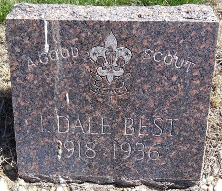 BEST, I. DALE - Pennington County, South Dakota | I. DALE BEST - South Dakota Gravestone Photos