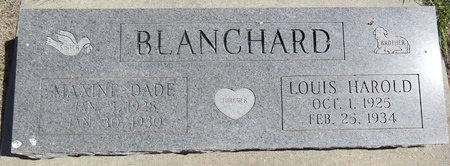 BLANCHARD, MAXINE - Pennington County, South Dakota | MAXINE BLANCHARD - South Dakota Gravestone Photos