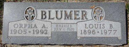 BLUMER, LOUIS - Pennington County, South Dakota | LOUIS BLUMER - South Dakota Gravestone Photos