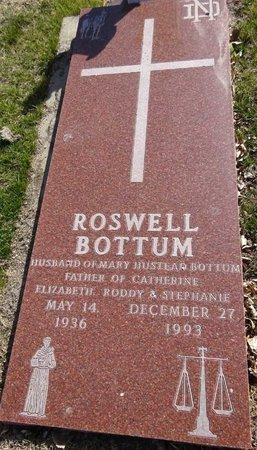 BOTTUM, ROSWELL - Pennington County, South Dakota | ROSWELL BOTTUM - South Dakota Gravestone Photos
