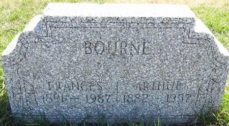 BOURNE, FRANCES - Pennington County, South Dakota   FRANCES BOURNE - South Dakota Gravestone Photos