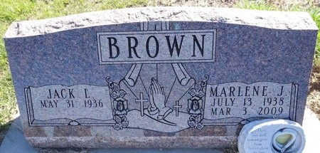 BROWN, JACK - Pennington County, South Dakota | JACK BROWN - South Dakota Gravestone Photos