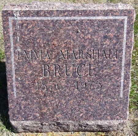 BRUCE, EMMA - Pennington County, South Dakota | EMMA BRUCE - South Dakota Gravestone Photos