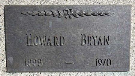 BRYAN, HOWARD - Pennington County, South Dakota   HOWARD BRYAN - South Dakota Gravestone Photos