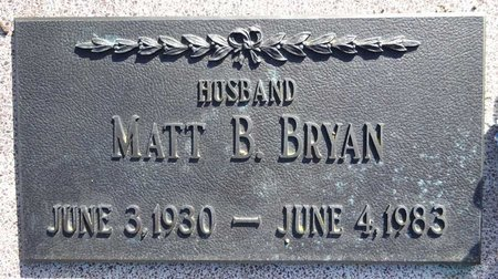 BRYAN, MATT - Pennington County, South Dakota | MATT BRYAN - South Dakota Gravestone Photos