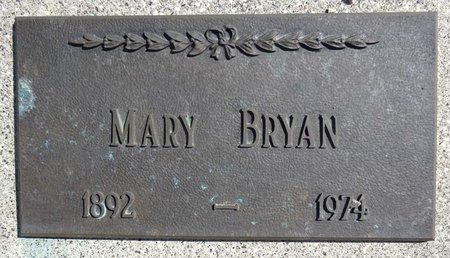 BRYAN, MARY - Pennington County, South Dakota | MARY BRYAN - South Dakota Gravestone Photos