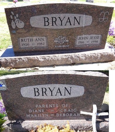 BRYAN, RUTH ANN - Pennington County, South Dakota | RUTH ANN BRYAN - South Dakota Gravestone Photos