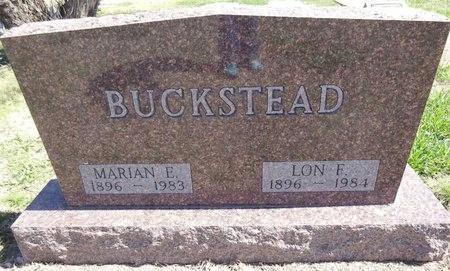 BUCKSTEAD, LON - Pennington County, South Dakota | LON BUCKSTEAD - South Dakota Gravestone Photos