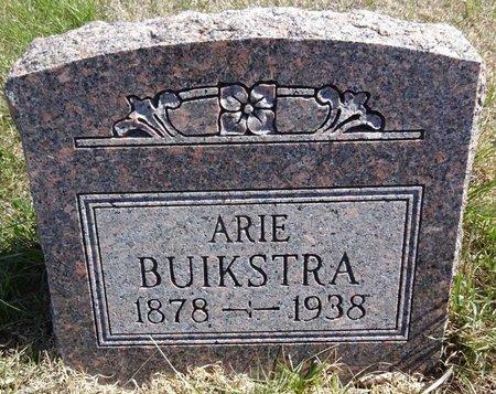 BUIKSTRA, ARIE - Pennington County, South Dakota   ARIE BUIKSTRA - South Dakota Gravestone Photos