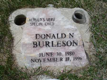 BURLESON, DONALD N. - Pennington County, South Dakota | DONALD N. BURLESON - South Dakota Gravestone Photos