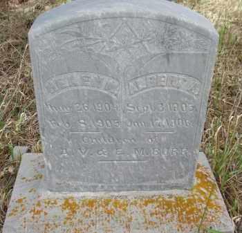 BURR, ALBERT A. - Pennington County, South Dakota   ALBERT A. BURR - South Dakota Gravestone Photos