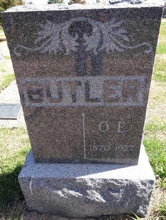 BUTLER, O.E. - Pennington County, South Dakota   O.E. BUTLER - South Dakota Gravestone Photos