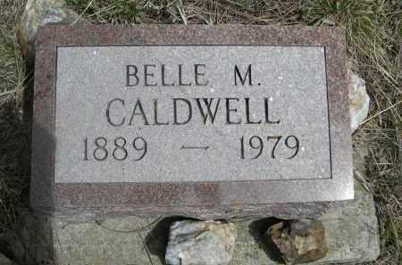 CALDWELL, BELLE M. - Pennington County, South Dakota | BELLE M. CALDWELL - South Dakota Gravestone Photos