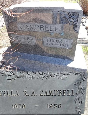 CAMPBELL, RUFUS - Pennington County, South Dakota | RUFUS CAMPBELL - South Dakota Gravestone Photos