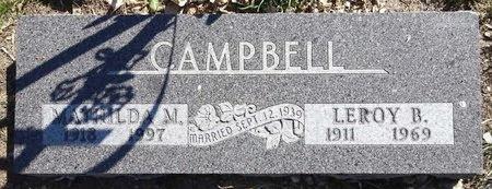HARNISCH CAMPBELL, MATHILDA - Pennington County, South Dakota | MATHILDA HARNISCH CAMPBELL - South Dakota Gravestone Photos
