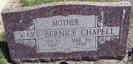 GOODSELL CHAPELL, MARY BERNICE - Pennington County, South Dakota   MARY BERNICE GOODSELL CHAPELL - South Dakota Gravestone Photos