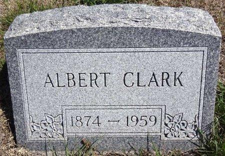 CLARK, ALBERT - Pennington County, South Dakota | ALBERT CLARK - South Dakota Gravestone Photos