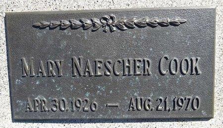 COOK, MARY - Pennington County, South Dakota | MARY COOK - South Dakota Gravestone Photos