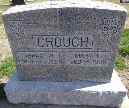 CROUCH, ABRAM - Pennington County, South Dakota | ABRAM CROUCH - South Dakota Gravestone Photos