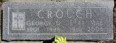 CROUCH, ETTA MAE - Pennington County, South Dakota | ETTA MAE CROUCH - South Dakota Gravestone Photos