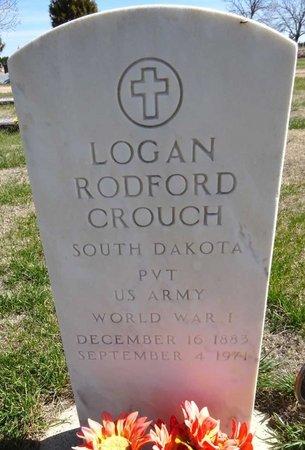 CROUCH, LOGAN RODFORD - Pennington County, South Dakota   LOGAN RODFORD CROUCH - South Dakota Gravestone Photos