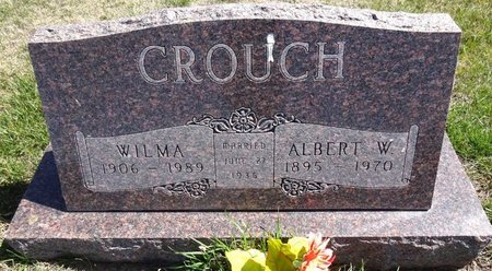 CROUCH, ALBERT - Pennington County, South Dakota | ALBERT CROUCH - South Dakota Gravestone Photos