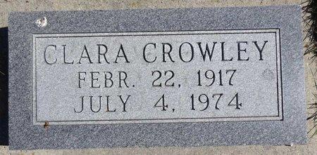 CROWLEY, CLARA - Pennington County, South Dakota   CLARA CROWLEY - South Dakota Gravestone Photos