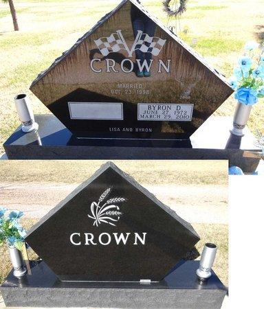 CROWN, BYRON - Pennington County, South Dakota   BYRON CROWN - South Dakota Gravestone Photos