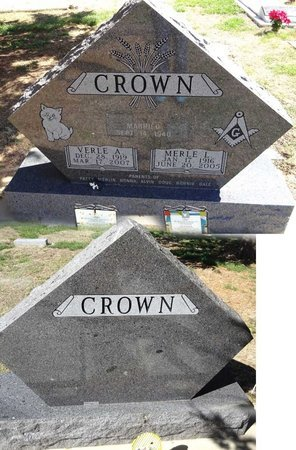LYNCH CROWN, VERLE - Pennington County, South Dakota | VERLE LYNCH CROWN - South Dakota Gravestone Photos