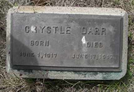 DARR, CRYSTLE - Pennington County, South Dakota | CRYSTLE DARR - South Dakota Gravestone Photos