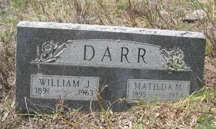 DARR, WILLIAM J. - Pennington County, South Dakota | WILLIAM J. DARR - South Dakota Gravestone Photos