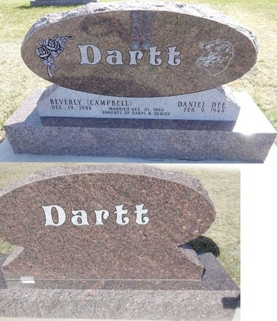 DARTT, DANIEL - Pennington County, South Dakota | DANIEL DARTT - South Dakota Gravestone Photos