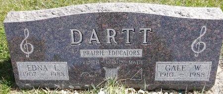 LEMAN DARTT, GALE - Pennington County, South Dakota | GALE LEMAN DARTT - South Dakota Gravestone Photos