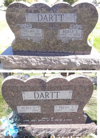 DARTT, VELMA - Pennington County, South Dakota | VELMA DARTT - South Dakota Gravestone Photos